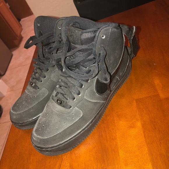 Nike Force Hightop Black Jet Poshmark schoenen 1 Air AqnrAfx